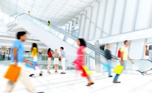 Retail store traffic